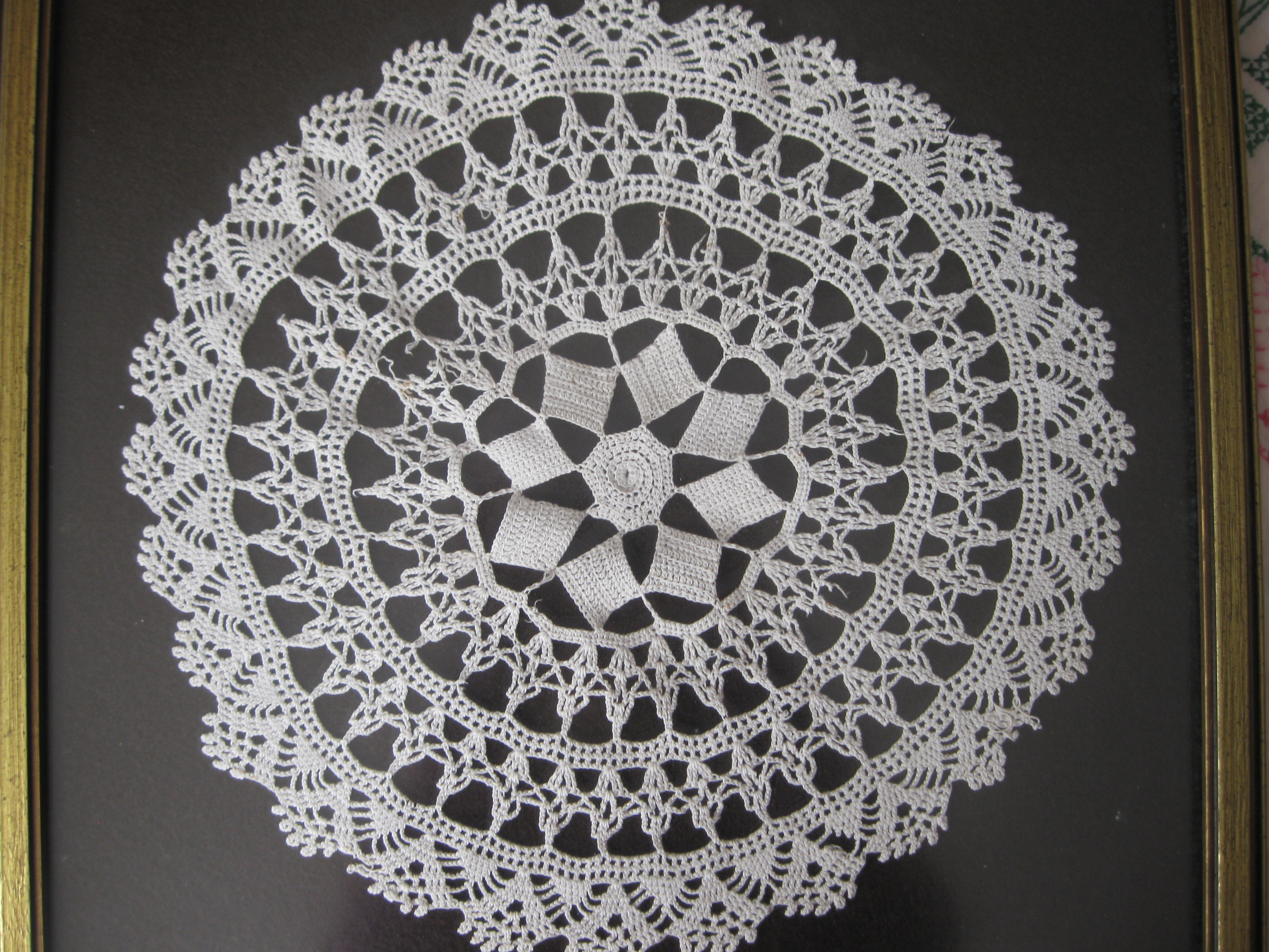 from Rebecca: tatted doily