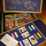 "This ""Mr. Ree!"" board game dates to the forties. It's a detective game similar to ""Clue."""
