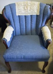 from Jean: antimacassars to protect the furniture