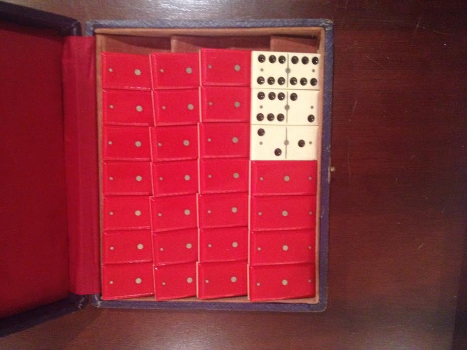 from Vivian: dominoes set