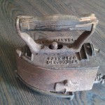 "from Tricia: antique iron, ""patented Dec. 30, 1924"""