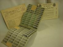 from John: WWII ration stamp books