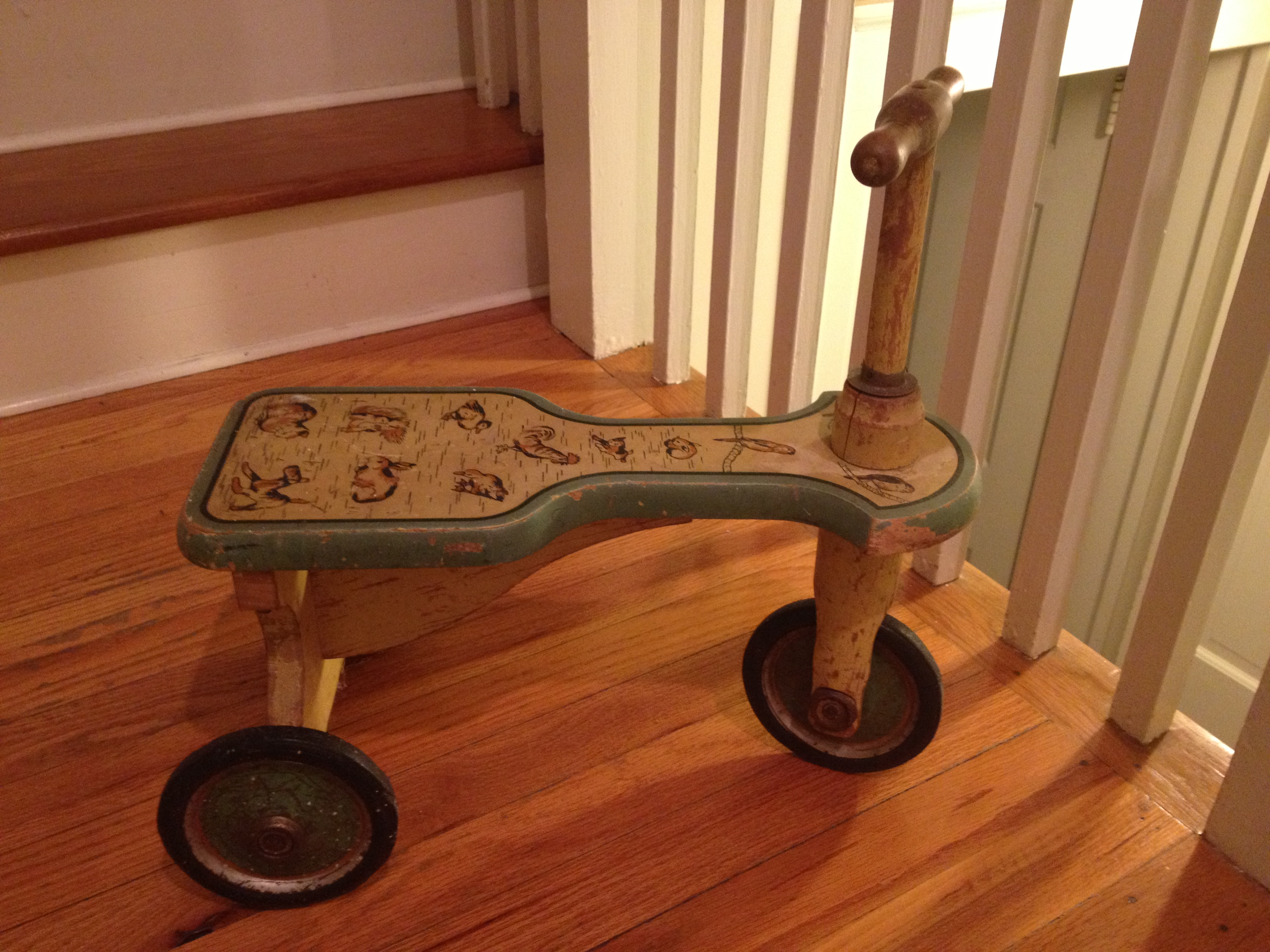 from Jennifer: 1920s scooter